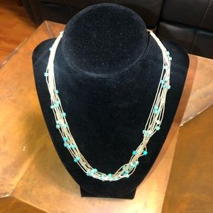 Beautiful Sterling Silver & Turquoise necklace